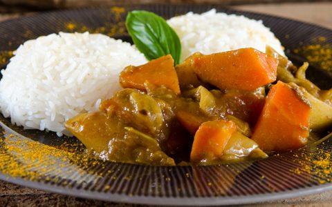 Japanisches Curry Sous-Vide