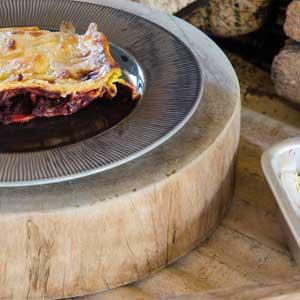 Rezept Kuerbislasagne mit Rote Beete Sugo