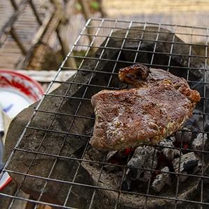 Sous Vide Kalbsnacken Steak