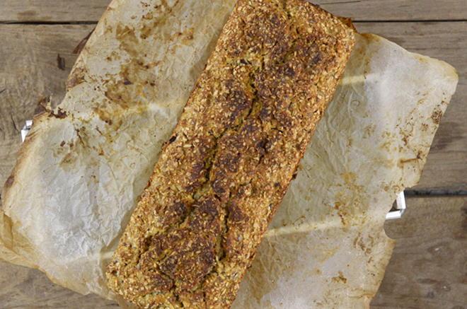 Schnelles Brot mit Molke