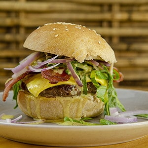 Rezept für Hamburgerbrötchen mit Sauerteig