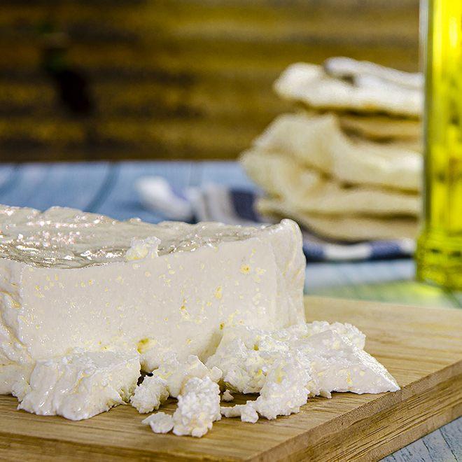 Feta Käse selber machen.