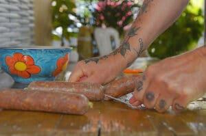 Luftgetrocknete Salami selber machen