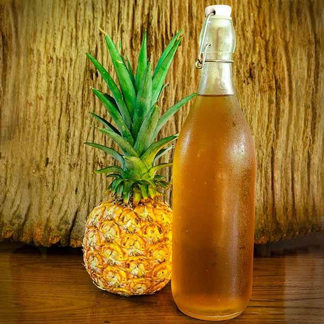 Ananas-Essig selber machen