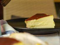 Rezept für den cremigsten Käsekuchen der Welt - Baskischer Käsekuchen
