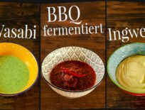 Grillsaucen selber machen - fermentierte BBQ-Sauce